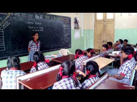 KV Ashok Nagar,  Case study and report on chennai flood