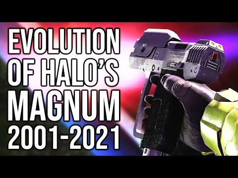 The Evolution of Halos magnum | Lets take a look at every version of the Halo magnum