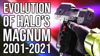 The Evolution of Halo\'s magnum | Let\'s take a look at every version of the Halo magnum
