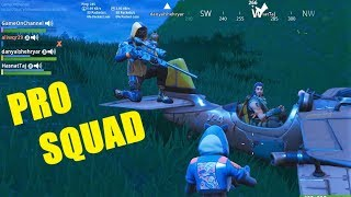 FORTNITE |SQUADS| VICTORY ROYALE Season 7