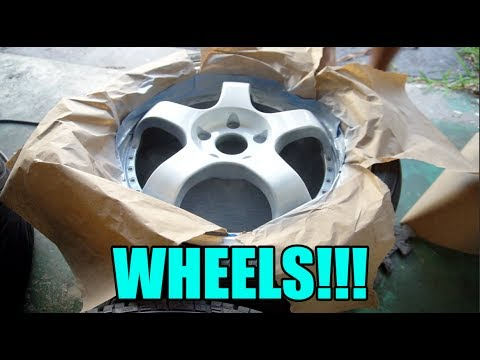 WHEEL PREP FOR MY IS300!!!!! - #PROJECT300