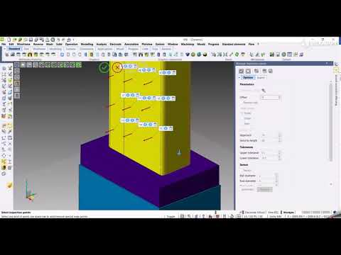 CAD - Inspection points | VISI 2022.0