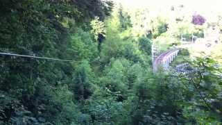 Marius im Adventure Park Neuhausen am Rheinfall
