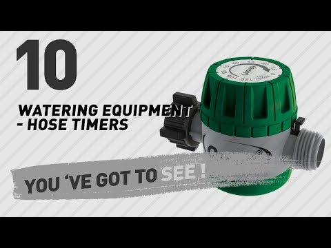 Top 10 Watering Equipment - Hose Timers // New & Popular 2017