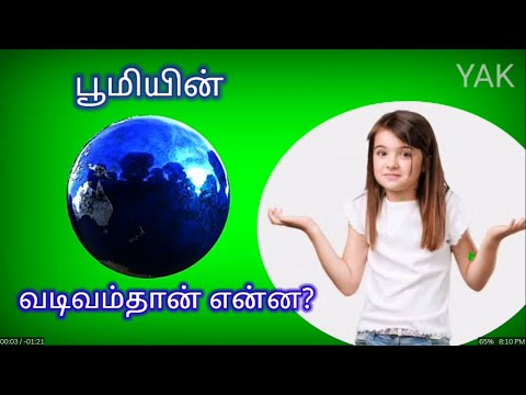 What is the shape of The Earth ? |பூமியின் வடிவம் தான் என்ன?