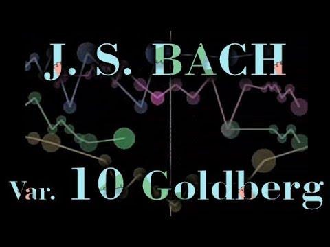 Johann Sebastian BACH: Goldberg Variation No. 10, BWV 988