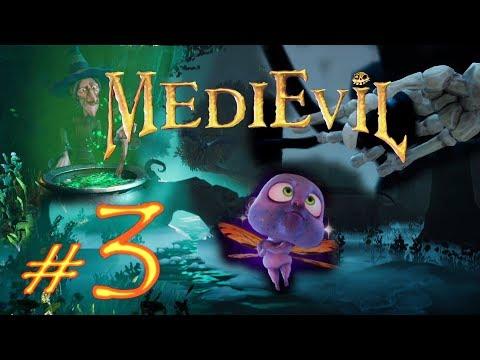 MediEvil 2019 PS4 Прохождение #3 Муравейник Феи и Королева