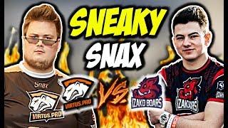 "SNAX "" SNEAKY BEAKY"" TECEK SMOKE CRIMINAL VIRTUS PRO VS IZAKO BOARS CSGO BEST MOMENTS"