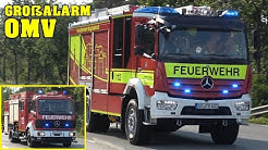 GROSSALARM OMV RAFFINERIE | Werkfeuerwehren! | 13 Minuten Einsatzfahrten der Feuerwehr & Rettung!