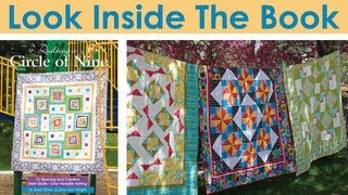 Look Inside: Quilting a Circle of Nine