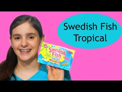 New Candy Review - Swedish Fish Mini Tropical