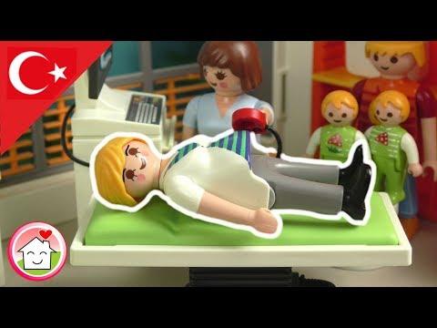Playmobil Türkçe Kız Mı Erkek Mi? - Hauser Ailesi - PLAYMOBIL Hastanesi