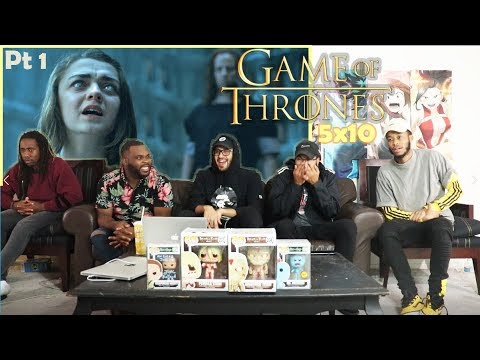 "Game of Thrones Season 5 Episode 10 ""Mother's Mercy"" REACTION Part 1"