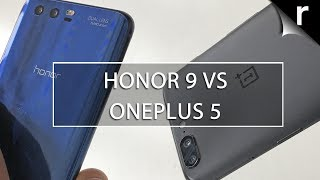 Honor 9 vs OnePlus 5: Battle of the Value Flagships