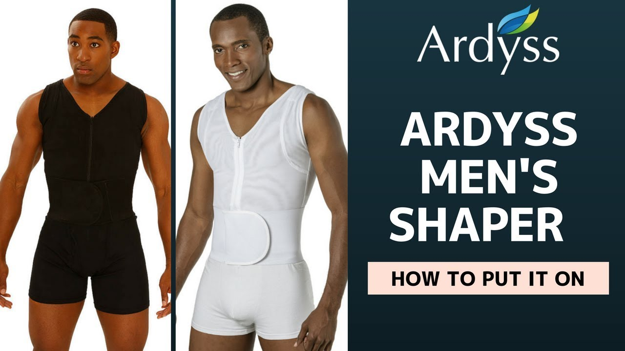 fd534f2a4f9 HOW TO PUT ON ARDYSS MENS BODY SHAPER