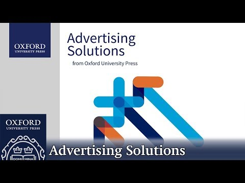 Advertising Solutions From Oxford University Press