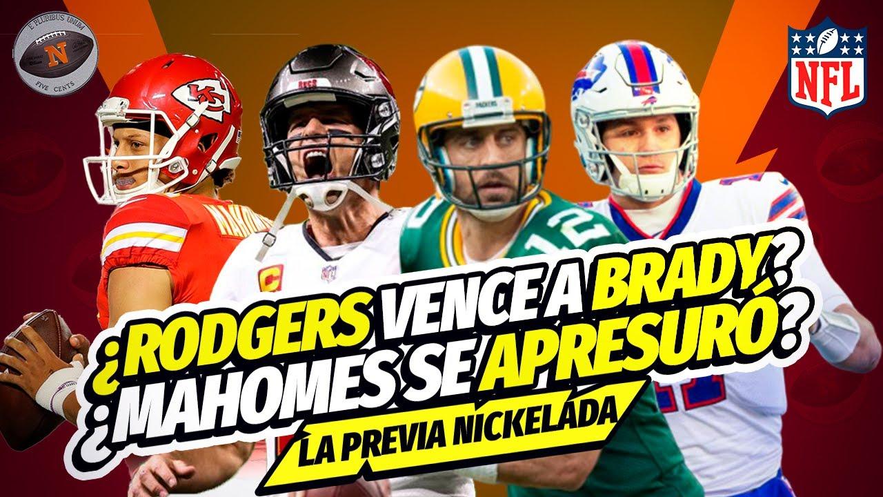¿Rodgers se verá mejor que Brady? | ¿Mahomes apresurado? | Plan defensivo de Bucs | Previa Nickelada