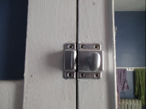 Bon Refinishing 105 Year Old Cabinet Hinges And Locks   YouTube