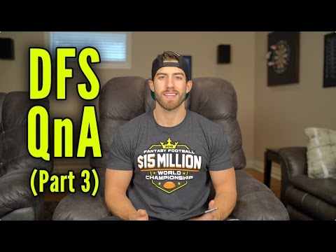 The Sports Geek DFS QnA (Part 3)