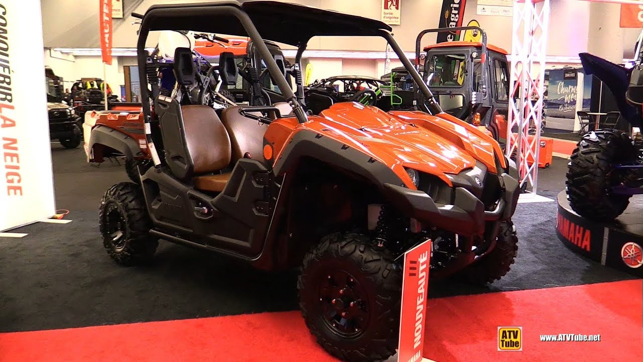 2020 Yamaha Viking Ranch Edition Walkaround 2019 Montreal Atv Show Youtube