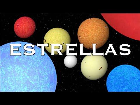 De qué color son las estrellas?   MITOS ESPACIALES [ V ] - YouTube