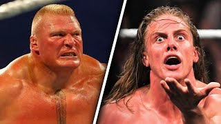 Brock Lesnar & Matt Riddle Backstage FIGHT WWE Royal Rumble 2020