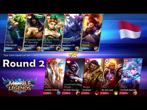 TOURNAMENT MOBILE LEGEND BALI   SQUAD STBH VS CS ROUND 2
