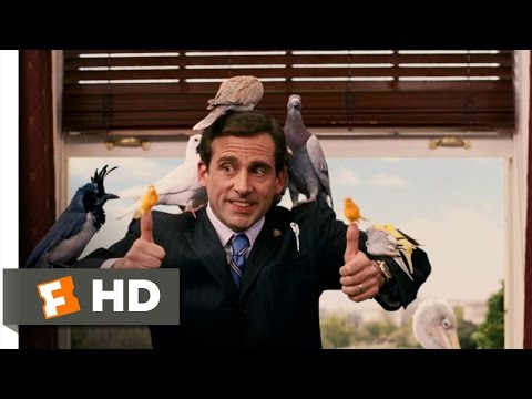 Evan Almighty (5/10) Movie CLIP - These Are Birds (2007) HD