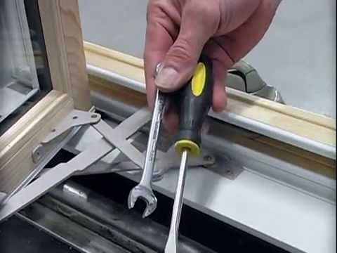 Quaker Window Problems Adjust Wood Casement Sash Youtube
