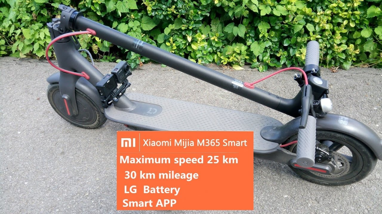 Xiaomi M365 Mijia Electric Scooter Review ⋆ Next Actioncam