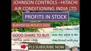 JOHNSON CONTROLS HITACHI AIR CONDITIONING INDIA LTD