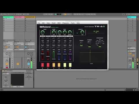 Roland TR-6S Editor / Controller  in  VST and Standalone Version