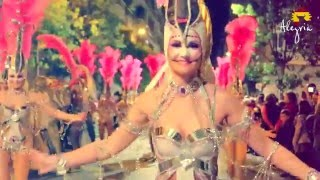 Торревьеха. Ночной карнавал в феврале, 2016(Карнавал в г. Торревьехе проходит несколько дней, в 2016 году финальное праздничное шествие прошло 13 февраля..., 2016-02-18T15:24:43.000Z)