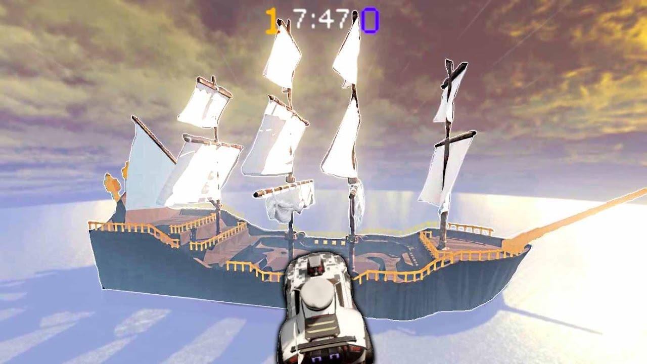 rocket league pirate ship youtube
