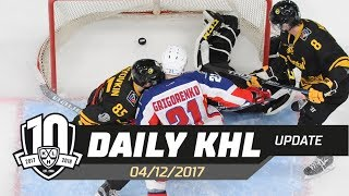 Daily KHL Update - December 4th, 2017 (English)