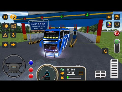 Mobile Bus Simulator New Bus #6 JAKARTA - Android Gameplay FHD
