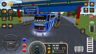 Mobile Bus Simulator New Bus #6 JAKARTA - Android Gameplay FHD screenshot 2