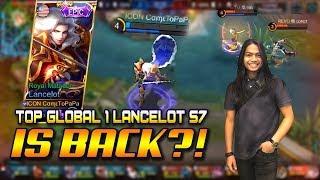 TOP GLOBAL 1 LANCELOT SEASON 7 IS BACK .?!! ComeToPaPa LANCELOT VS FULL TEAM REVO .!!