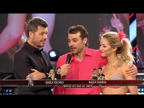 ¡A un paso de la gloria! Pedro Alfonso derrotó a María del Cerro y pasó a la final del Bailando 2016