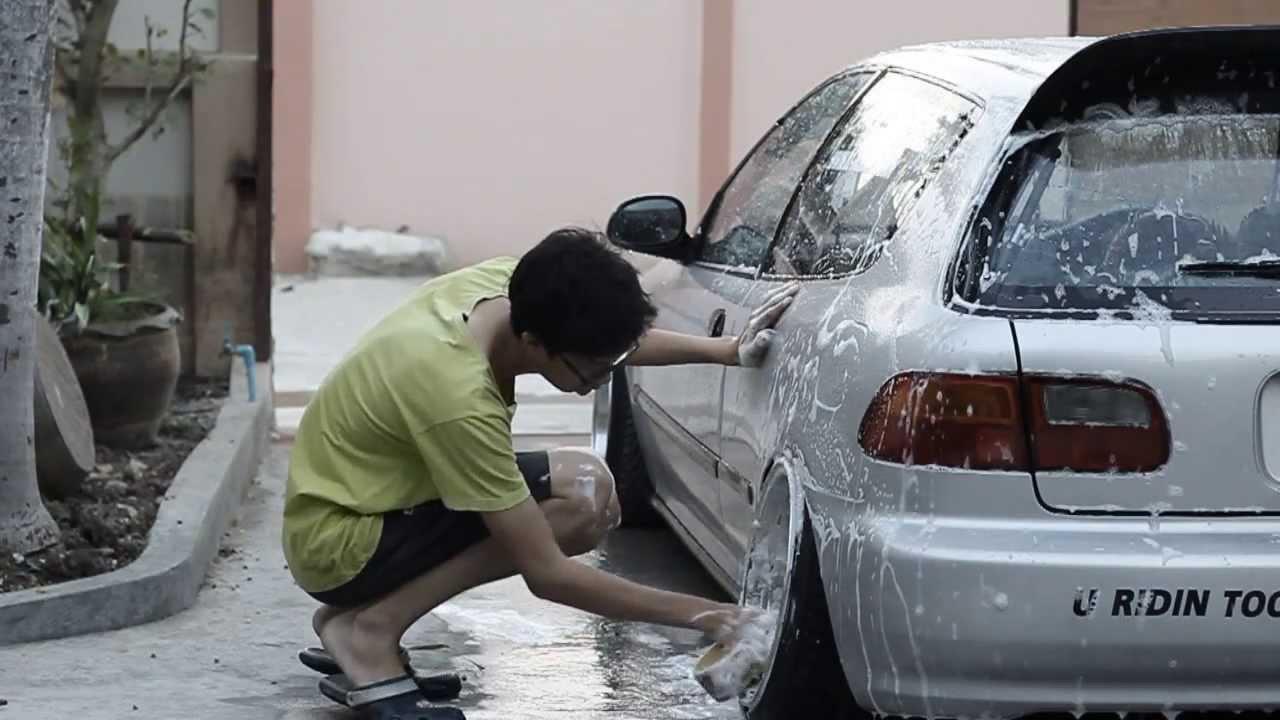 just washing my ride