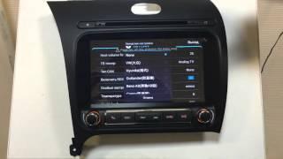 Секретное меню штатной магнитолы Far-Car Winca s160
