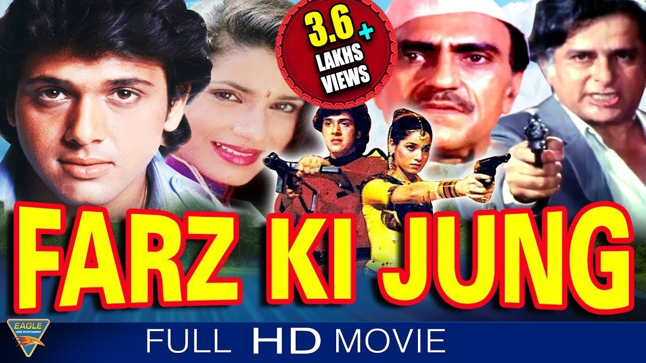 Farz Ki Jung Hindi Full Length Movie || Govinda, Neelam, Shashi Kapoor || Eagle Hindi Movies