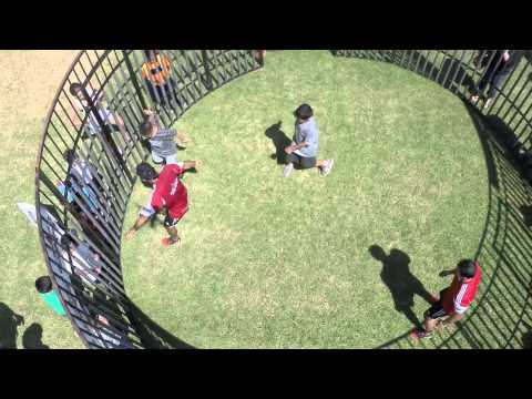 Futboleros Soccer Entertainers & Soccer Cage