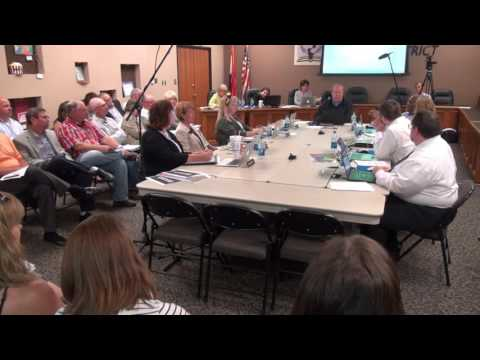 September 12, 2016 Lease Purchase Hearing and Board Work Session