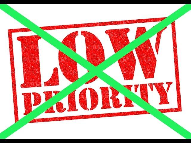 Как снять ЛП лоу приорити быстро 2016 Новый способ