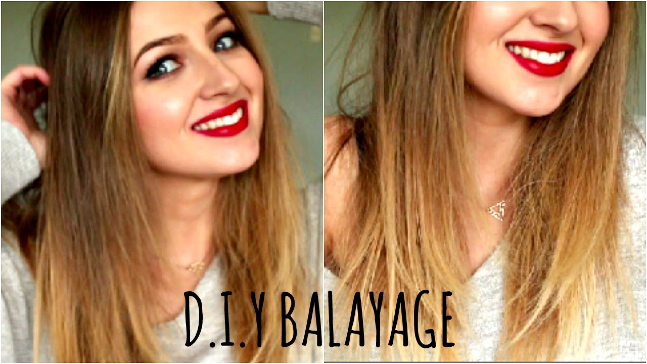 Diy Balayage Or Ombre Hair At Home L Oreal Paris Glam Highlights