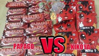 WOW!!! SNACK TOP 1 PAPAGO vs KIKOYA SNACK