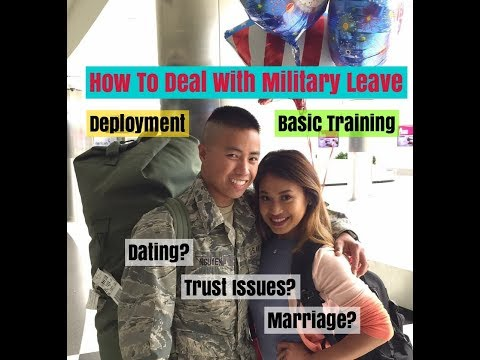 Military Couples | Dealing With Being Away - Basic Training/ Deployment
