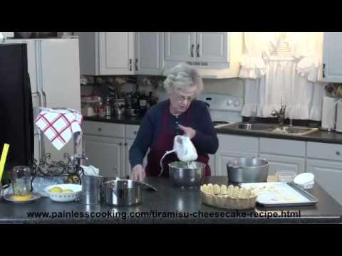 How to Make Tiramisu Cheesecake