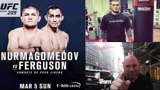 ХАБИБ БУДЕТ ДРАТЬСЯ С ФЕРГЮСОНОМ UFC 209